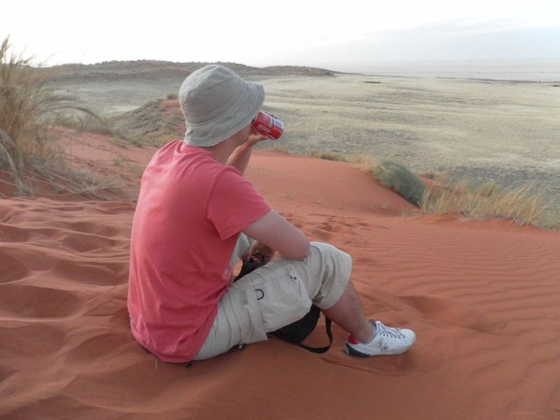 The Tourist Namibia Namib Naukluft National Park Enjoying Life Enjoy The Silence Relaxing Moments Enjoyed the Moment watching the Sun going down. Amazing moment as Seen in a Coca Cola advertisement with a fresh ICE cold Coke. Coca Cola