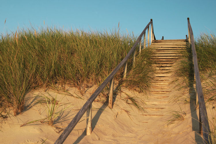 Stairs in Dunes