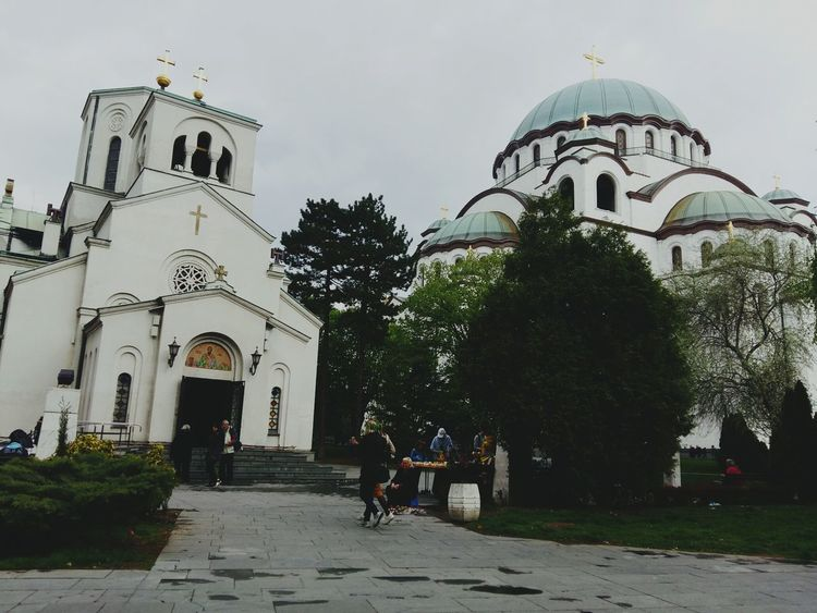 Architecture City Place Of Worship Day Belgrade,Serbia Culture Ortodox Church