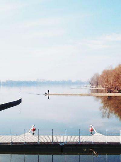 The place where I feel good River Landscape Vistula