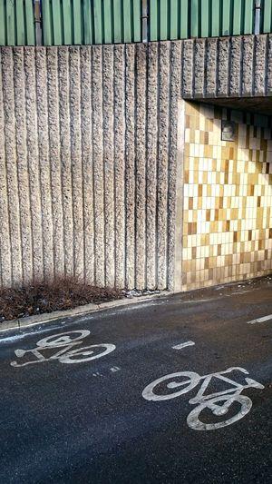 Cycle Path Londonviadukten Concrete Bikes Bike Sign Södermalm Celebrate Your Ride