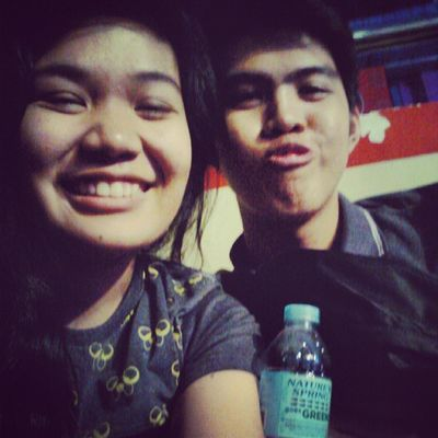 With the most handsome guy. Hahahaha @marcos121795