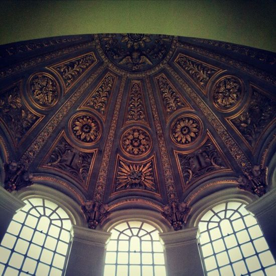 Lookingup Windows Church Dome ornate symmetry symmetryart