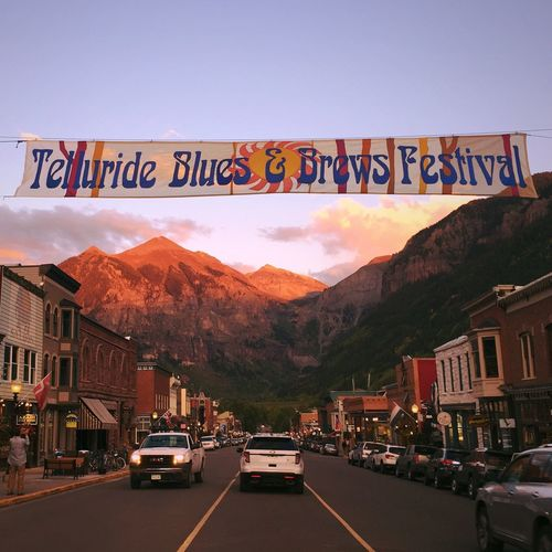 Blues Montain  Colorado Sun Sunset Trip USA