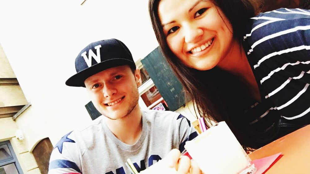 Peruvianfood Home Home Sweet Home Dinner Germany Hometown Ingolstadt Holidays Streetphotography People Boy Girl Girlfriend Boyfriend EyeEm Sunset Holiday Moments Today's Hot Look hanging out with my girl 🇵🇪🇩🇪😎❤️