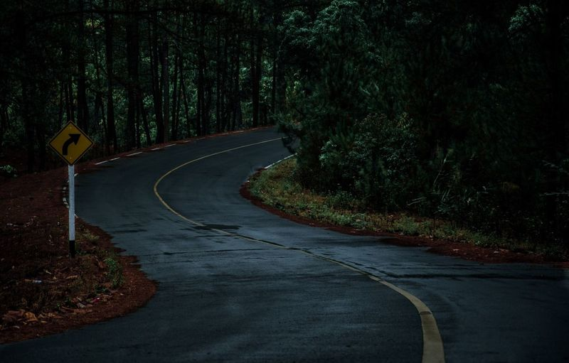 My road in my