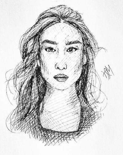 Drawing Quicksketch Pen Illustration