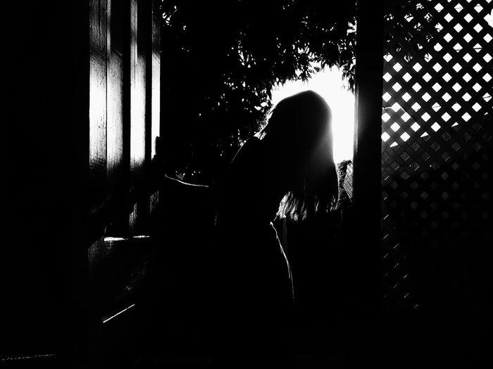 Phases. Blackandwhite NEM Black&white IPhoneography Self Portrait NEM Self Silhouette EyeEm Best Shots black