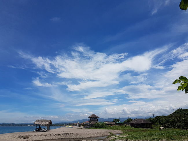 EyeEm Best Shots EyeEm Nature Lover Eyeem Philippines Perspectives On Nature Architecture Beach Beauty In Nature Blue Building Exterior Built Structure Cloud - Sky Day Horizon Over Water Nature No People Outdoors Scenics Sea Sky Water