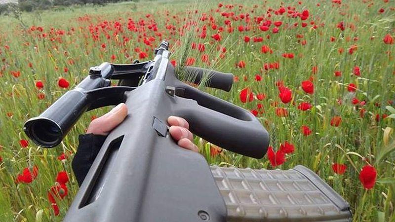 😍😍😍 تصوير 📷 @ayhm_abdulwli Date 21/4/2015 عدستي تصويري  Guns Gun Stayer Nature Spiring بوح Sniper ربيع