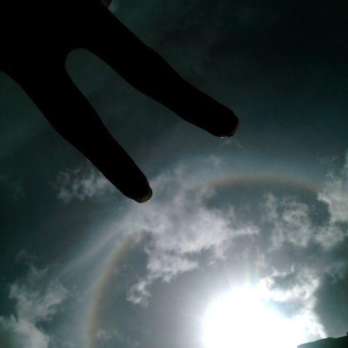 Caracas Venezuela HoyEnLaMañana Cielo Sky Sky And Clouds Photography Photographylovers Nubesdehoy Nubes Ojodedios Rainbow Sun Sol Nature_collection