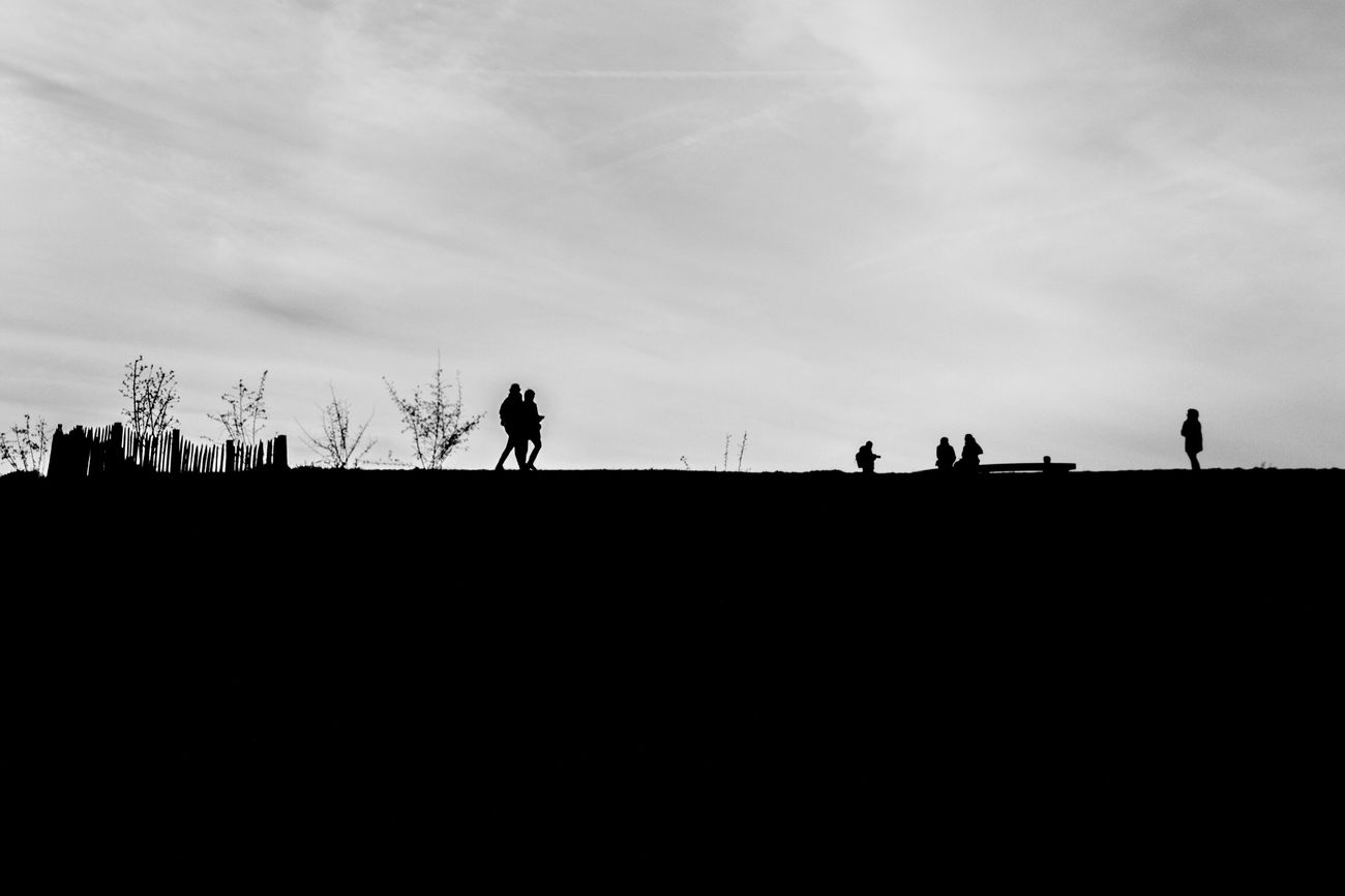 Park Garden Boulogne-Billancourt Silhouette People Walking Trees Nature Nature Photography EyeEm Nature Lover Landscape Minimal Large View  Bnw_captures Bnw Bnwphotography EyeEm Best Shots - Black + White Blackandwhite Photography Blackandwhite From My Point Of View EyeEm Best Shots EyeEm Selects EyeEmBestPics Taking Photos Hello World