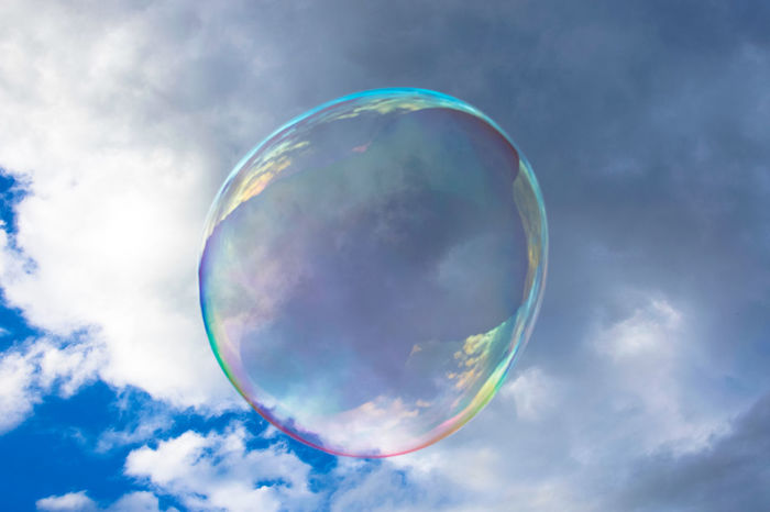 sky Beauty In Nature Bubble Bubble Bath Bubble Play Bubblebath  Bubblegum Bubbler Bubbles Bubbles In Water Bubbles ♥ Bubbles!!(: Bubbles... Bubbles...Bubbles.... Bubbly Cloud Cloud - Sky Day Fragility Low Angle View Multi Colored Nature Outdoors Scenics Sky Tranquil Scene Tranquility