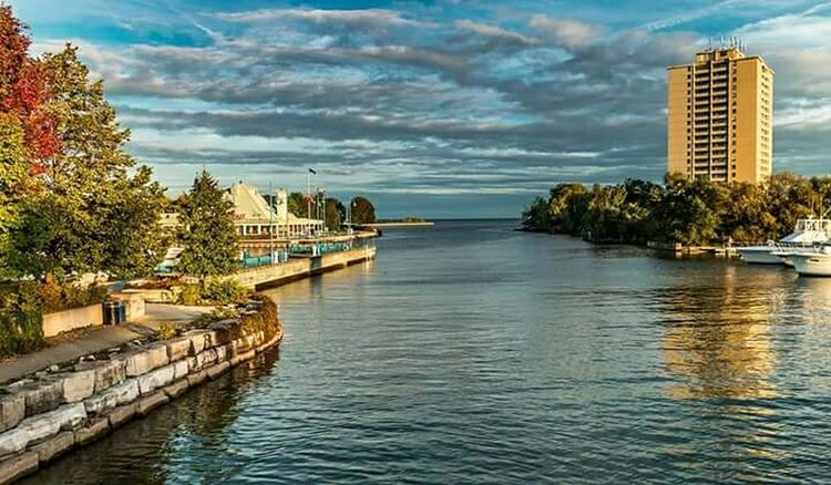 Marina Port Sunset Clouds Clouds And Sky Streetphotography Urban Landscape Photography Lovers Photographer Photography Toronto Canada Landscape Landscape_photography Composition Art Lake Lake Ontario