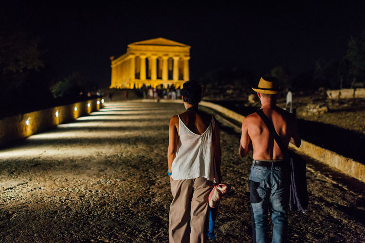 Valle dei Templi Agrigento Cities At Night Couple Night Sicilia Sicily Summer Valle Dei Templi