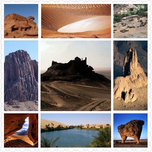Le sud Algérien.