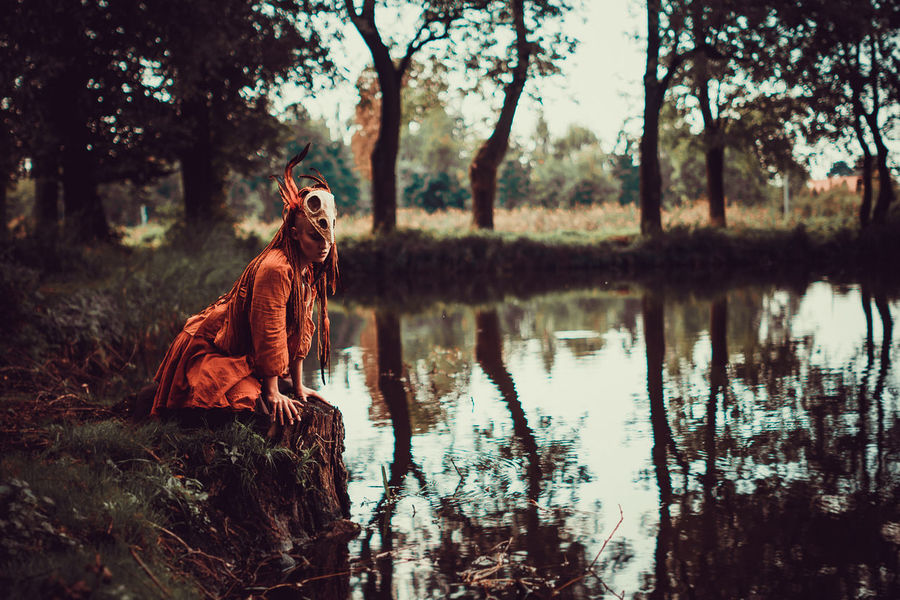 Tree Full Length Women Reflection Water Sky Fisherman Fishing Net Fishing Equipment Fishing Boat Trawler Buoy WoodLand Fall Lake Woods Forest Leaves Countryside Lakeside Growing Fishing Commercial Fishing Net Catch Of Fish Fishing Tackle Fishing Rod Myanmar Culture Fishing Industry The Fashion Photographer - 2018 EyeEm Awards