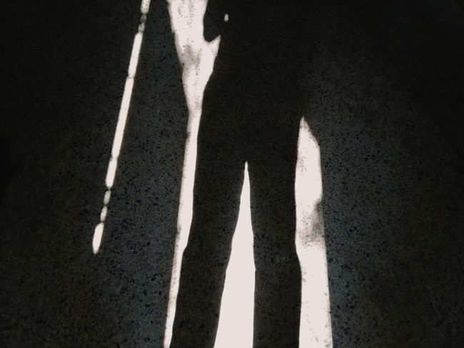 Sport Shadow Road Close-up