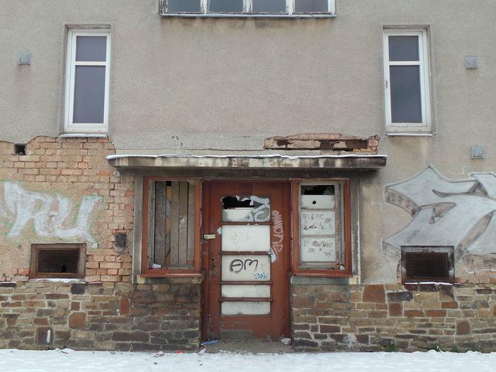 Abondoned Architecture Architektur Door Fenster Fenster Und Türen Leipzig Tür Verlassen Window Windows And Doors Winter