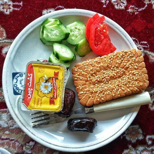 Sehri / Breakfast Sehri Today Ramzan Ramadan  Iran Travelogue Hoteling Shīrāz