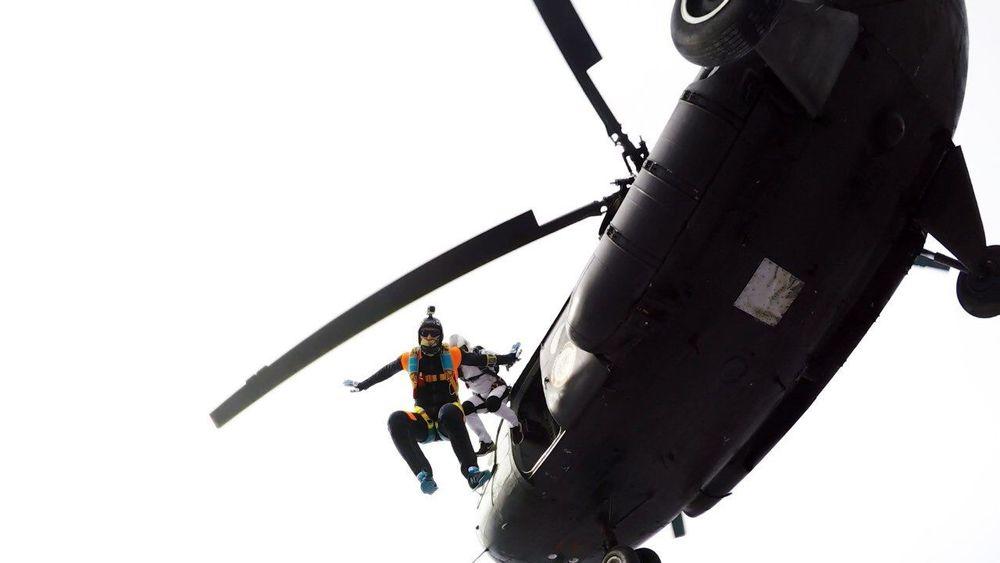 4000m Skydive Skydiver Sky Helicopter Beahero FlyorDie Sky Go Higher