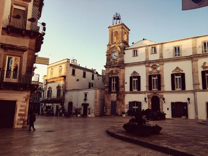 Martinafranca Puglia Puglia2016 Centro Storico Walking Girovagando Inverno Winter Sole Sunny Day Italy