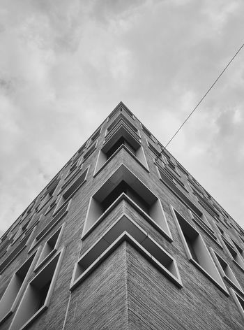 Architecture Axis Basel, Switzerland Building Exterior Built Structure Centre Cloud - Sky Herzog&deMeuron Low Angle View Outdoors Sky Spike Südpark The Architect - 2017 EyeEm Awards Windows