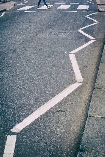 Road Marking On Street
