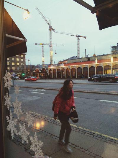Central Copenhagen Baresso Coffe Tivoli Hovedbanegård Relaxing Before Work