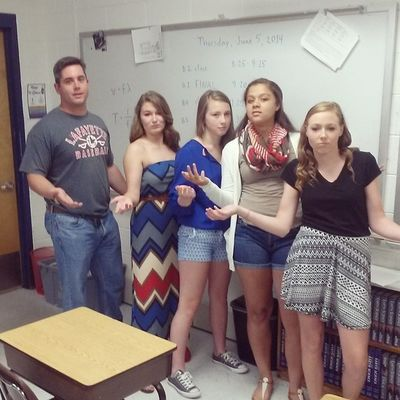 Bro pic with Griff nd my science squad