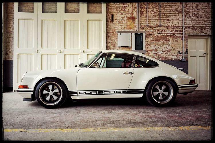 singer 911 Porsche Porsche 911 Singer  Bicester Heritage Oxfordshire Car Retro Styled Transportation Old-fashioned Built Structure Architecture Land Vehicle