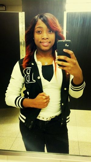 Light skin cutie..Lil Red ---> Tray B. main lady Monday Just Me School Day