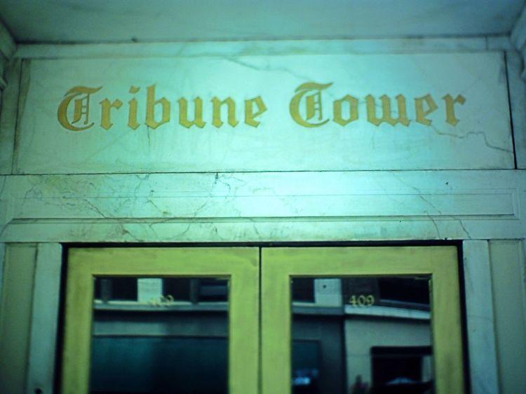 Oakland Oakland Tribune Tower Nein Grenze