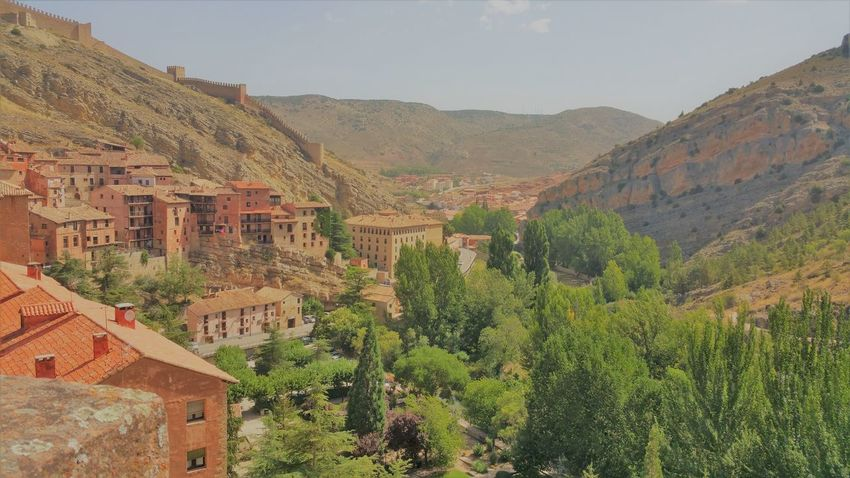 Albarracín Albarracín Spain Architecture Building Exterior History Mountain Nature Scenics Travel Destinations Tree