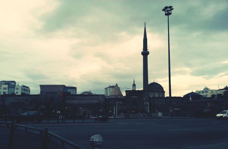 Square Kayseri Meydan Hunat Cami Seljuk