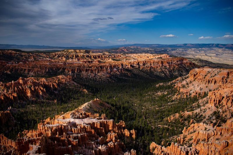 The Hoodoos Are Alive Travel Hikingadventures Red Canyon Landscape Environment Scenics - Nature Cloud - Sky Beauty In Nature Sky Nature Tranquil Scene Land Plant Mountain Outdoors Remote Travel Destinations Non-urban Scene No People