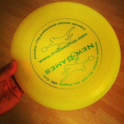 Die original 175g Wettkampfscheibe ist heute eingetroffen. Sport frei! Medletik Frisbee Fromwherewethrow