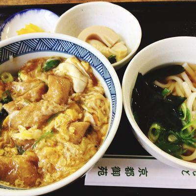 Food Porn Lunch Donburi Udon Noodles