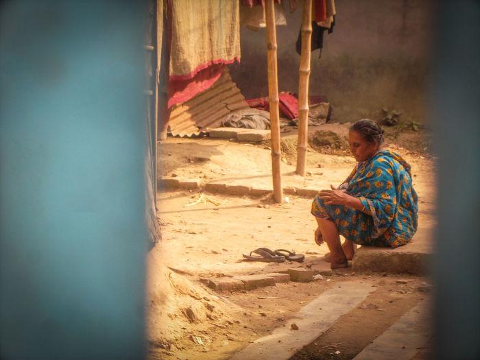 Life in Slum