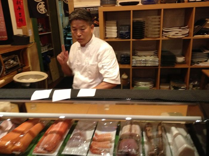 Gotta love Jimisan... Sushi The Purist (no Edit, No Filter) AMPt_POTD How Loud Does A Man Thinkth?