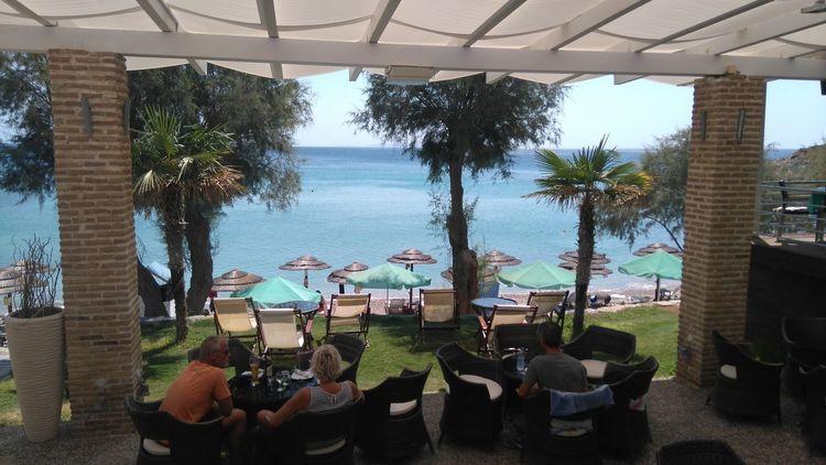 Glicorisa beach restaurant Seaview Beach Pythagoras Of Samos Pure Photography Enjoying Life Travel Destinations Samos Enjoy The View