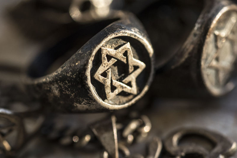Extreme close up of metal