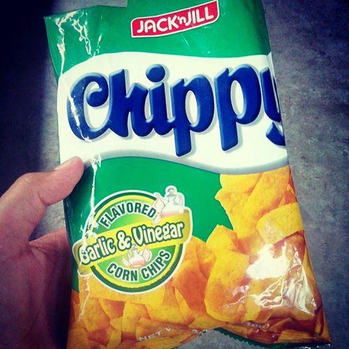 Chips with memories. Hahaha. @danamasilang gets? Hahaha. 😃 JrmySntg ♥ Chippygreen