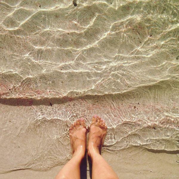 Traveling Me Balos On The Beach Balos Lagoon Kissamos Feet Sand Summer Greece