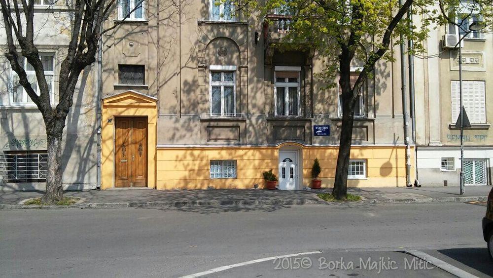 Yellow Belgrade Zemun Bulding Discover Your City My City Citylife Citywalls Citywalks Citywatching