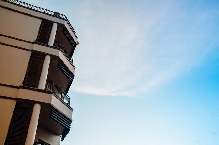 Low Angle View Sky Building Exterior Architecture Built Structure No People Outdoors Day Nature Brunei Darussalam EyeEmNewHere EyeEmNewHere