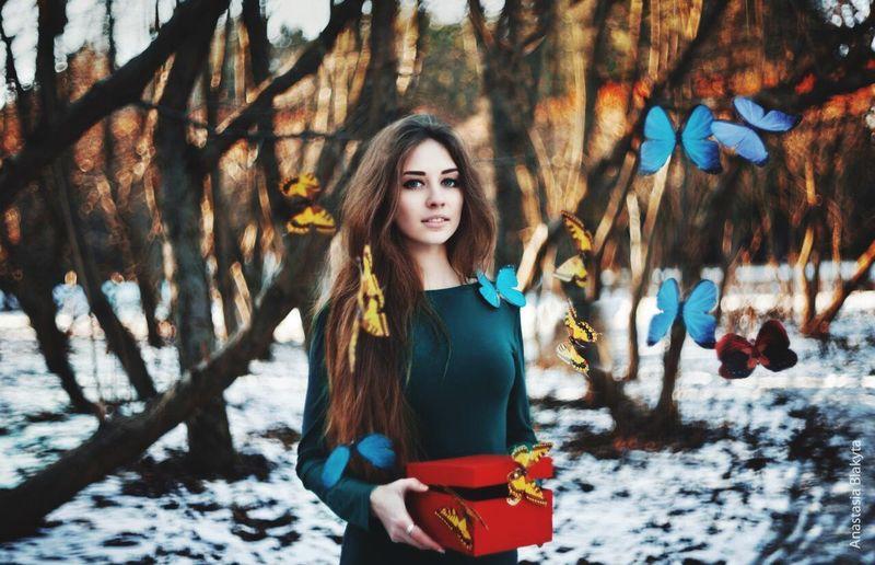 Не мое. Beautiful Woman Cute Winter