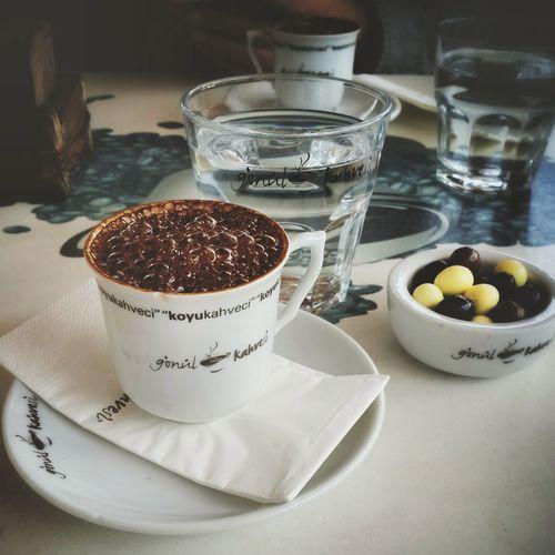Coffee Time ☕ Coffee Turkishcoffee Istanbul Turkey Gonulkahvesi