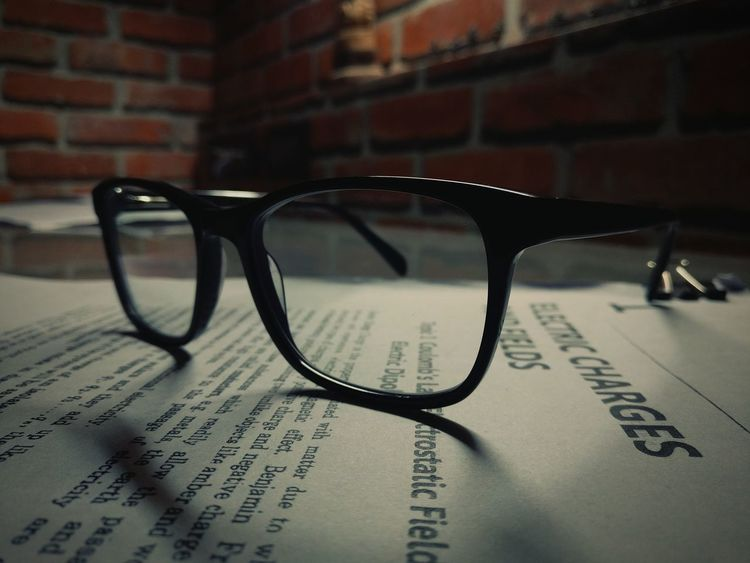 Close-up Indoors  Eyeglasses  StillLifeGallery EyeEm Gallery One Of Those Moments Sight Studying Burning The Midnight Oil Oneplus3photography