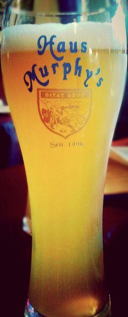 Haus Murphy's in Historic Downtown Glendale, Arizona. Beer German Restaurant German Beer Germany America Arizona Refreshing Light Color Pilsner Glass Glassware Hause Murphys
